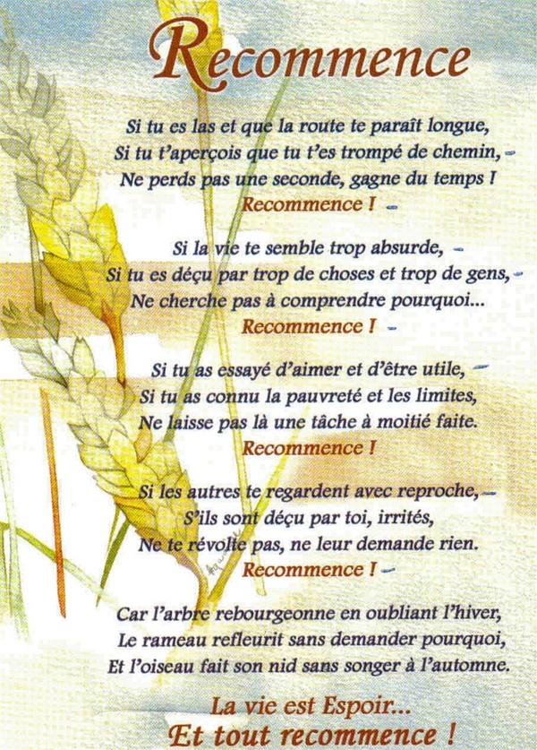 www.lumierederose.unblog.frRecommence