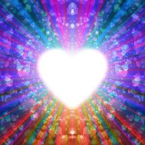 coeur à remplir de lumière